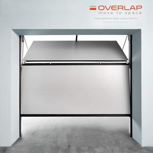 Overlap porte garage