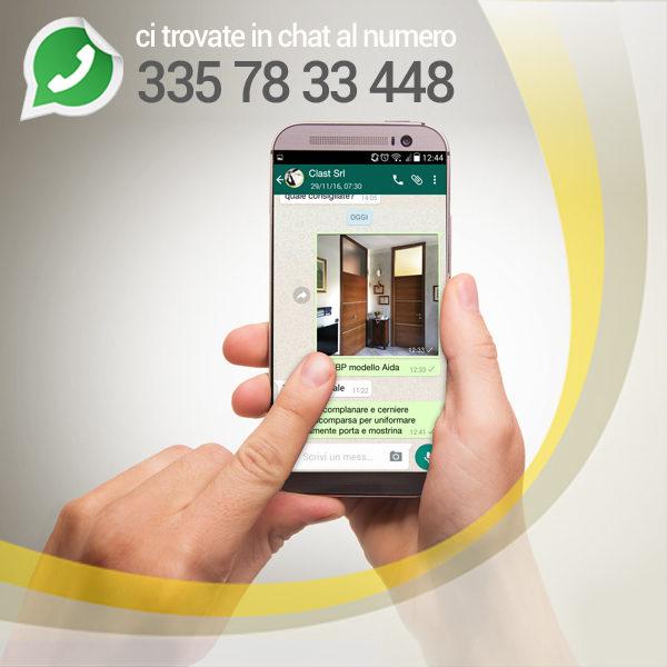 whatsappp 600x600 homepage | Clast srl: porte, portoni, sicurezza, cancelli, automazioni. Via Soncino 5, Trescore Cremasco