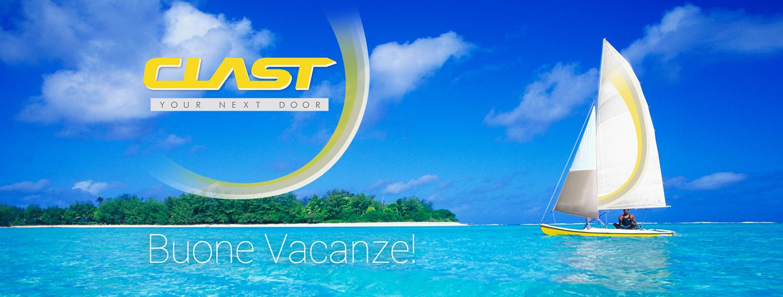 2017 vacanze Clast Chiuso per ferie dal 7 al 27 agosto | Clast srl: porte, portoni, sicurezza, cancelli, automazioni. Via Soncino 5, Trescore Cremasco