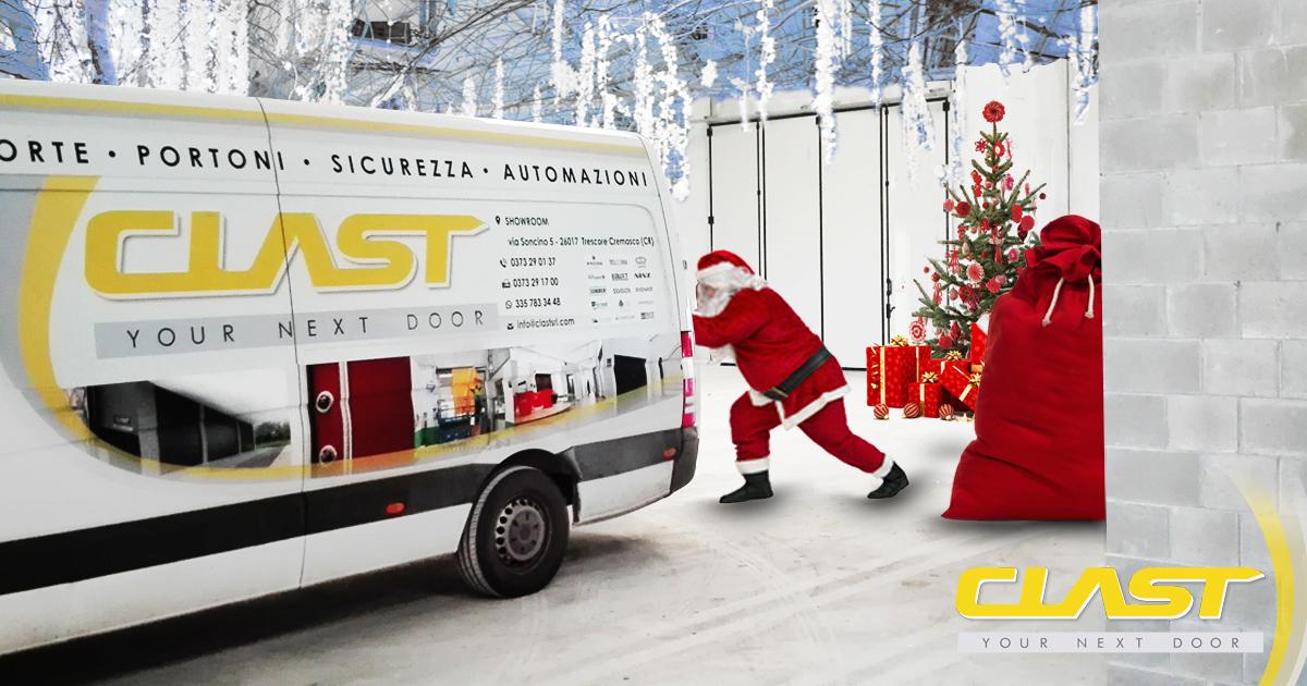 clast natale Buon Natale e Felice Anno Nuovo da Clast! | Clast srl: porte, portoni, sicurezza, cancelli, automazioni. Via Soncino 5, Trescore Cremasco