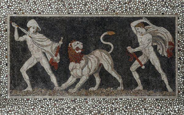 Pella Mosaico 600x377 YourNextDesign: larte del dettaglio, il mosaico | Clast srl: porte, portoni, sicurezza, cancelli, automazioni. Via Soncino 5, Trescore Cremasco