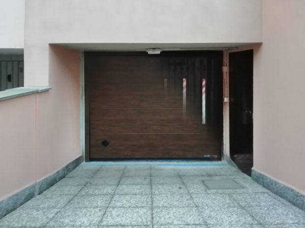 IMG 20181114 073505 600x450 Cupis noce di Breda: addio vecchia basculante in lamiera! | Clast srl: porte, portoni, sicurezza, cancelli, automazioni. Via Soncino 5, Trescore Cremasco