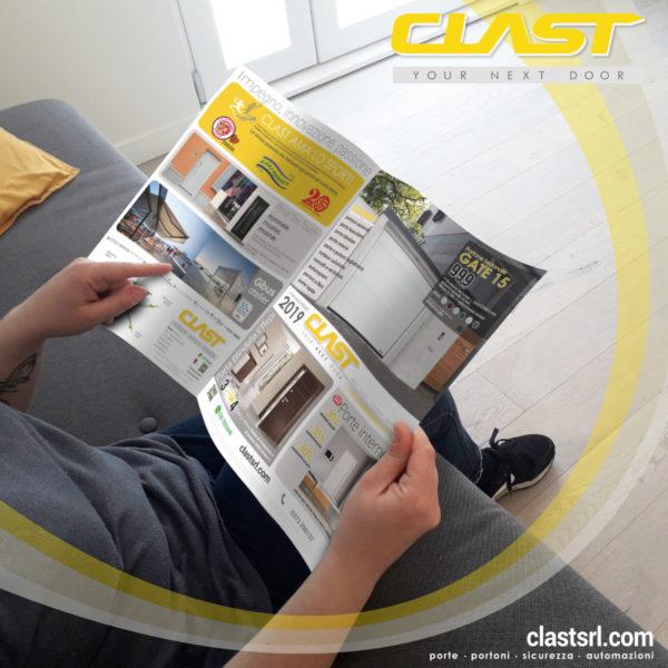 VOLANTINO 2019 600x600 homepage | Clast srl: porte, portoni, sicurezza, cancelli, automazioni. Via Soncino 5, Trescore Cremasco