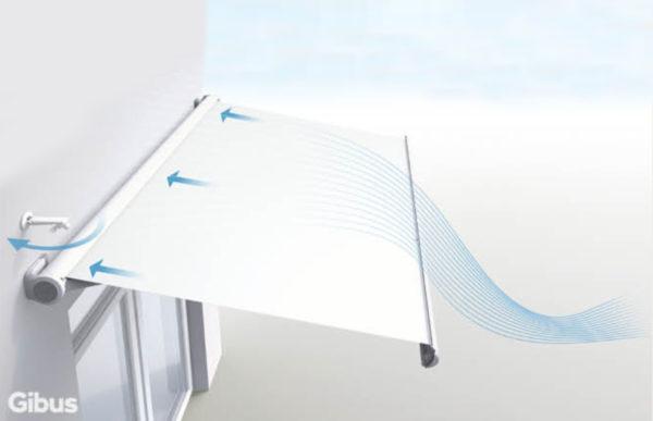 p 600x387 Gibus Segno: quando la tenda da sole è unopera darte. | Clast srl: porte, portoni, sicurezza, cancelli, automazioni. Via Soncino 5, Trescore Cremasco