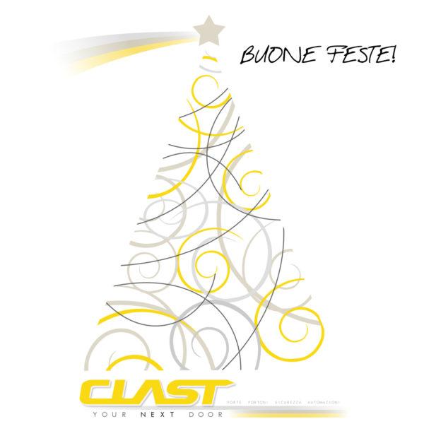 2019 auguri natale clast 600x600 homepage | Clast srl: porte, portoni, sicurezza, cancelli, automazioni. Via Soncino 5, Trescore Cremasco