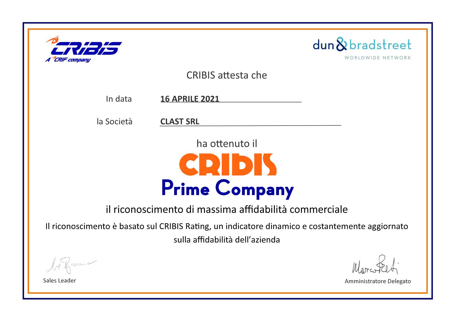 1 Clast srl è al massimo grado di affidabilità per Cribis D&B | Clast srl: porte, portoni, sicurezza, cancelli, automazioni. Via Soncino 5, Trescore Cremasco